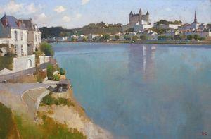 Saumur, across the Loire