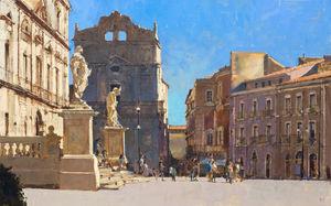 Santa Lucia alla Badia, Piazza Duomo, Sicily