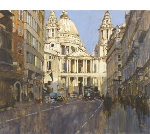St Paul's from Ludgate Hill