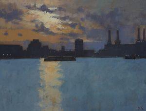 Sunset, Battersea Power Station