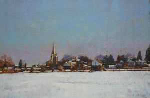 Wingham in the Snow
