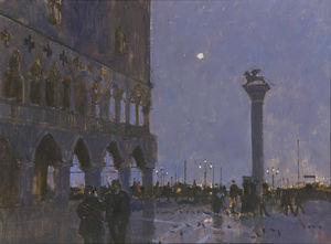 Piazzetta-Late Evening