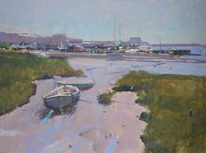 Low Tide, The Alde, Aldeburgh