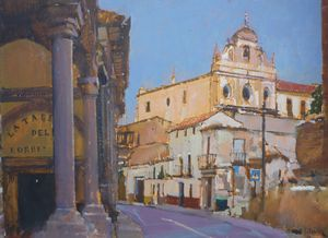 Spanish Church and Collande, Andalusia