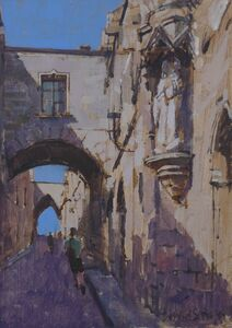 Madonna and Child, Street of the Knights, Rhodes