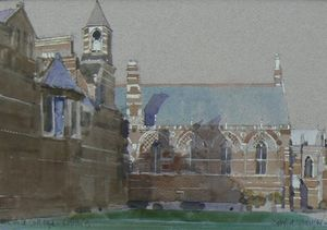 Keble College Library, Oxford