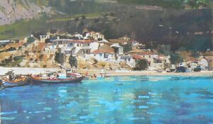 Blue Waters, The Harbour, Samos