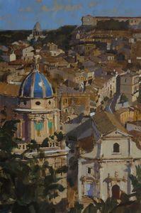 The Blue Dome, Ragusa Ibla, Sicily