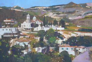 Church with Blue Dome, Ormos, Samos