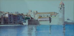Study, Notre Dames des Anges, Collioure