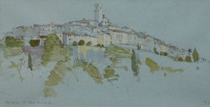 Terraces, St Paul De Vence