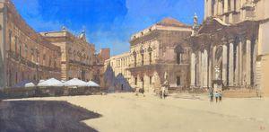 Piazza Del Duomo, Syracuse, Sicily