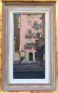 The Pink House, Alfama, Lisbon