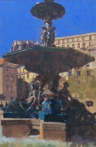 Rosso Fountain, Lisbon
