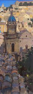 Blue Dome, Ragusa, Sicily