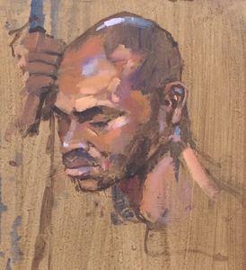 Portrait Study, The Boxer
