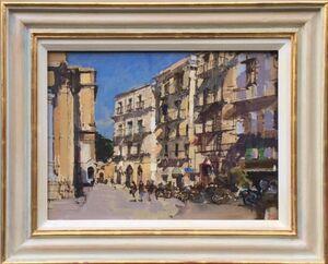 Piazza San Dominicio, Sunny Afternoon, Palermo