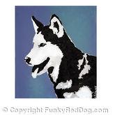 Blue Dog Stencil