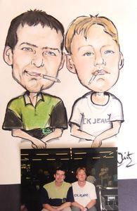 Caricature of mates