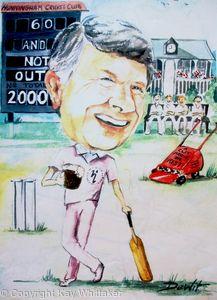 60th Birthday for a Cricket Fan