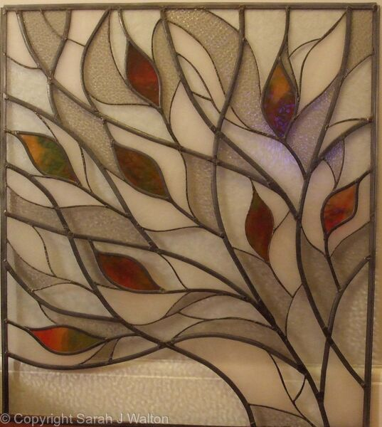 Stained Glass Window For Bathroom Glass Lead Came