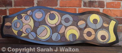 'Pinball' decorative ceramic panel
