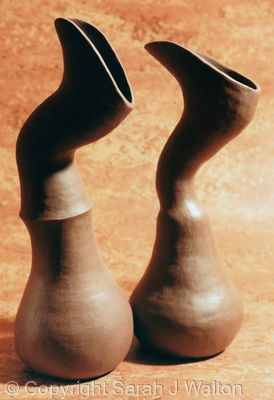 Sculptural pair
