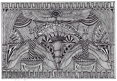 Egypt doodle