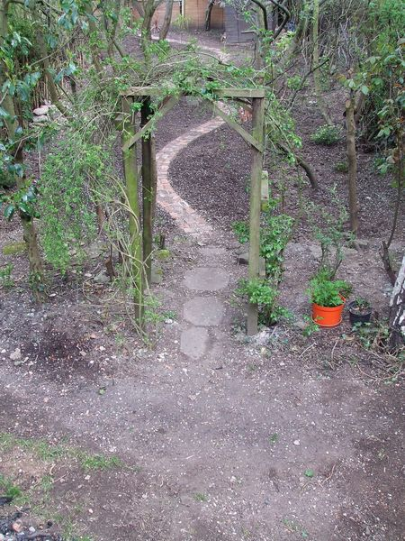 Garden path 2010