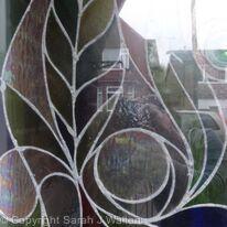 Front door panel detail