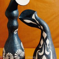Fluted vessels