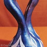 Swan necked vessel