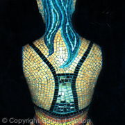 Mosaic mannequin - Back