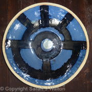 Large Glazed 'Porthole' bowl