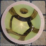 Small green 'running' bowl