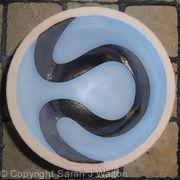 Small blue 'loop' bowl