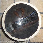 Small fully glazed 'horizon' bowl