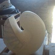 Nautilus Bird form - polished