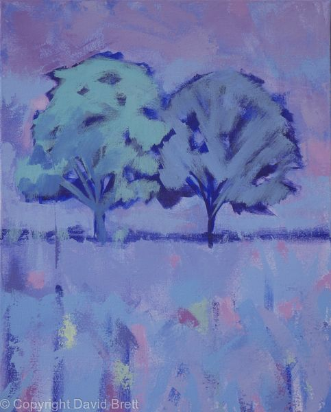 Brilliant Trees Moonlight