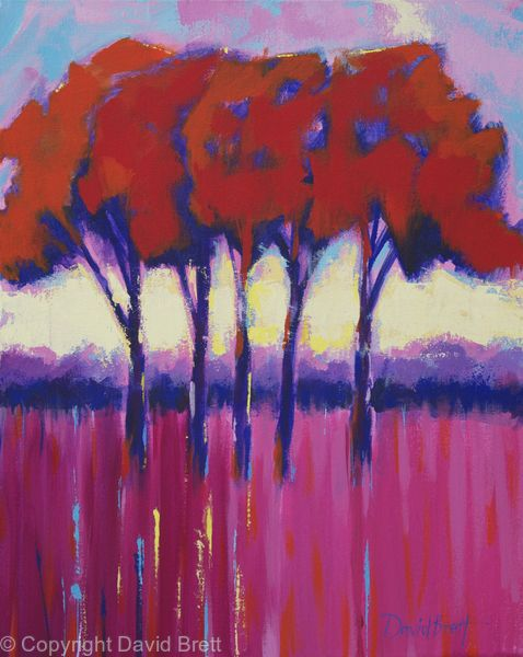 Five Trees Red