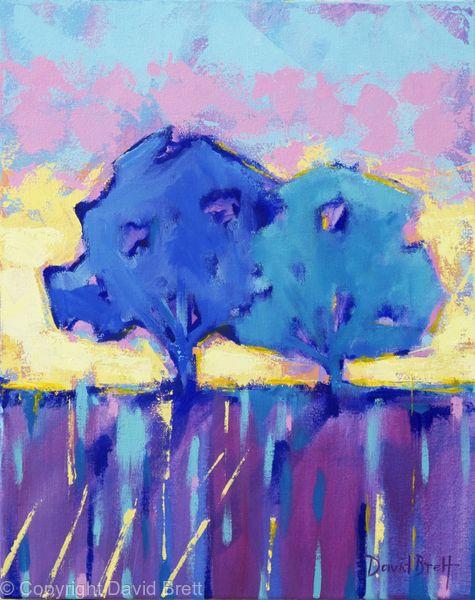 Blue Trees Sunrise III