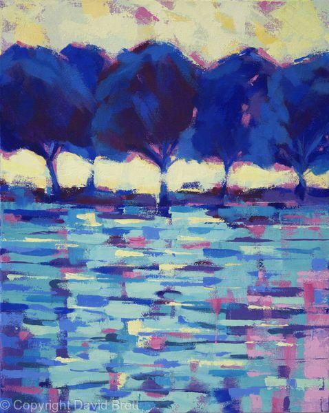 Blue Trees Paris