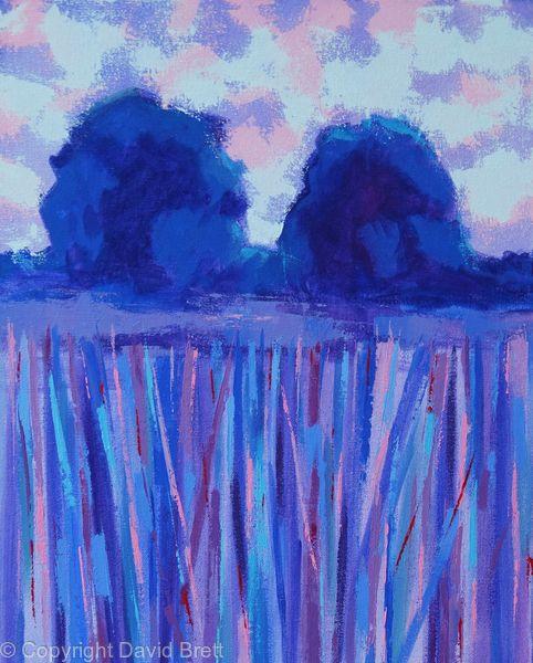 Blue Trees Twilight IV