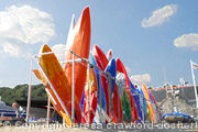 Orange Canoes
