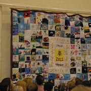 Memory Quilt, Cradley C of E Primary School, Halesowen