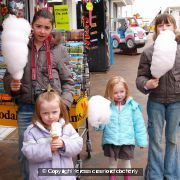 Ice cream and Candy Floss