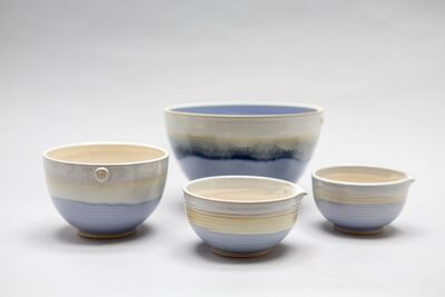 holly bell blue bowls