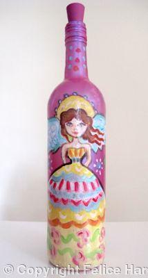 Angel: olive oil/vinegar bottle