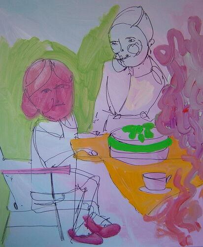 Unsavoury cake
