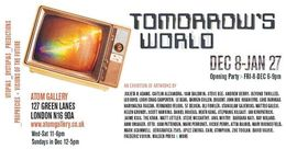 Tomorrows World exhibition poster